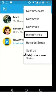 Hike Invite And Earn