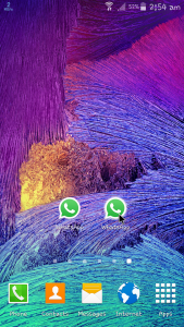 2 WhatsApp 1 Android