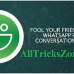 How to Make a Fake Text Conversation in Whatsapp