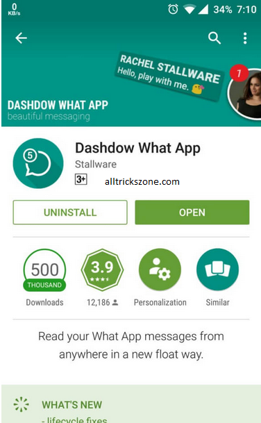 whatsapp chat heads apk