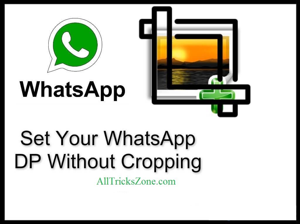 whatsapp dp no crop
