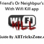 Wifikill App Prank your Friends By Killing Their WiFi Connection