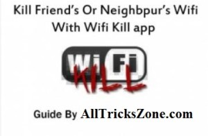 wifi kill apps