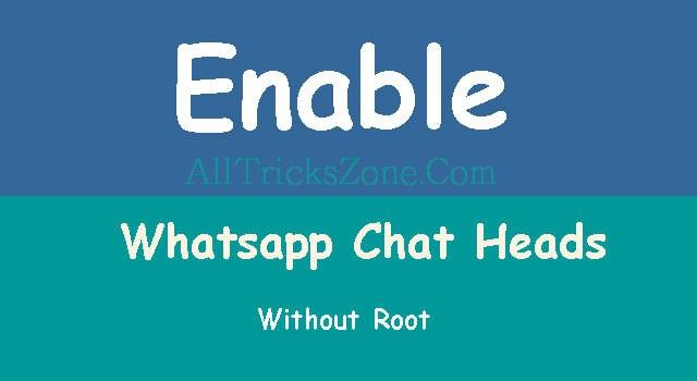 Whatsapp Chat Heads