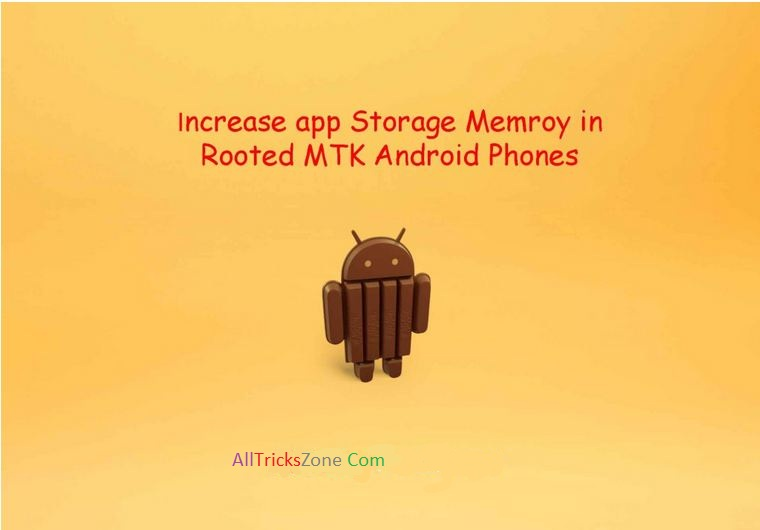 mtk android increase ram storage