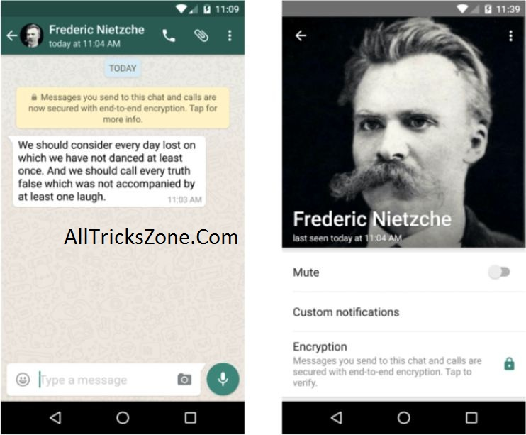 whatsapp messages encryption
