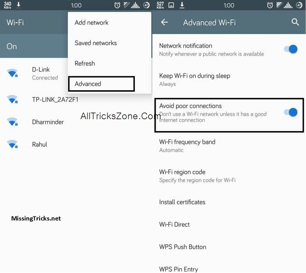 android wifi speed increase