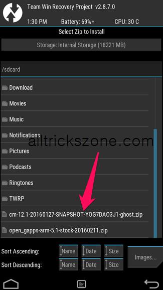 how to download custom roms