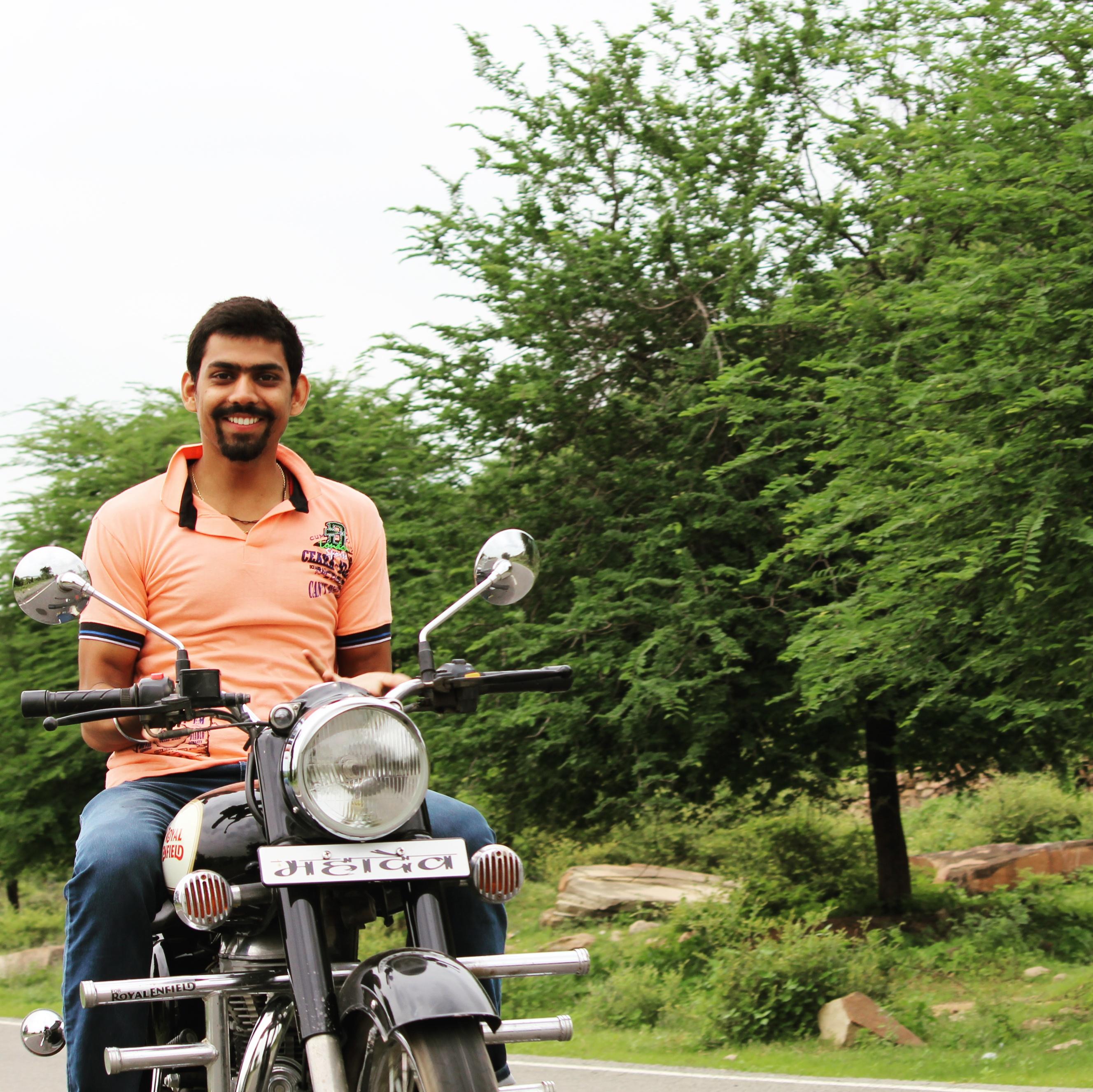 Ravi Prakash Singh Smile