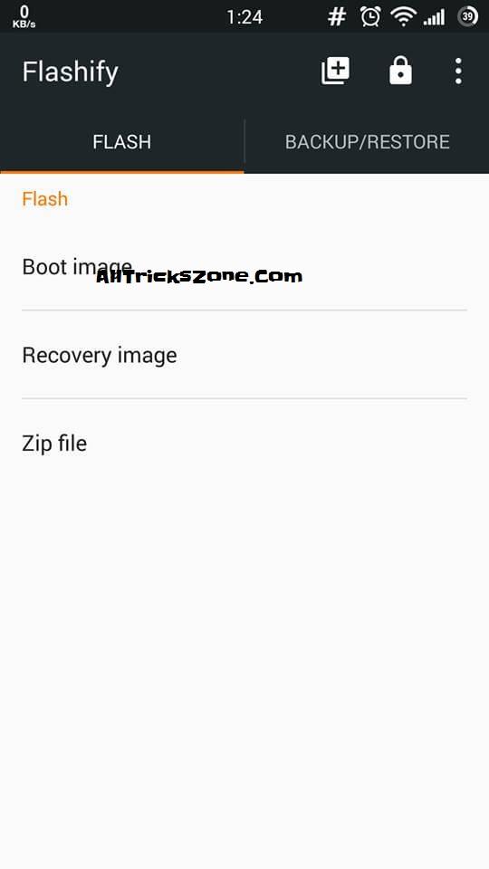flashify flasher app