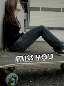 Whatsapp Miss you DP display pic