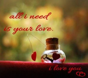 All-i-need-is-your-love-whatsapp-dp