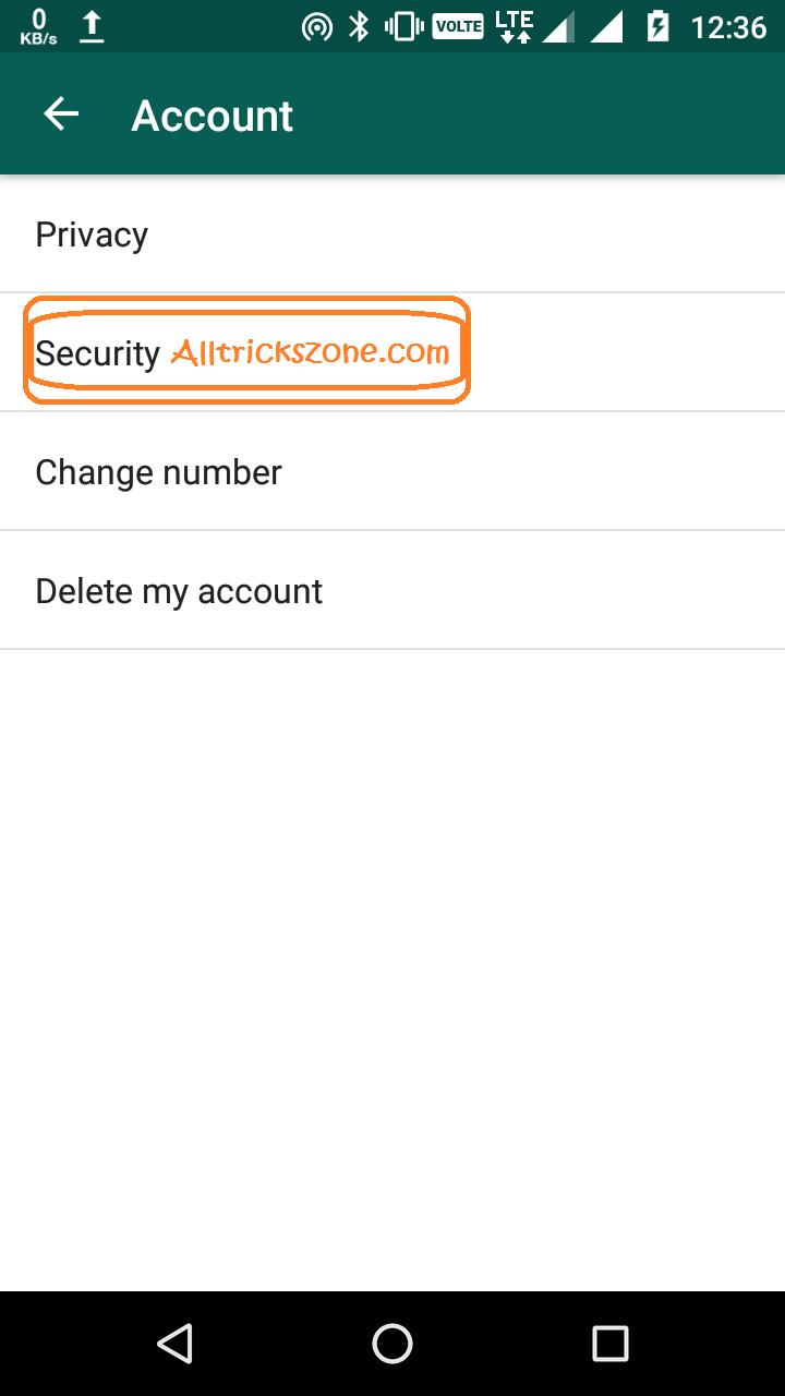Whatsapp Disable Encryption