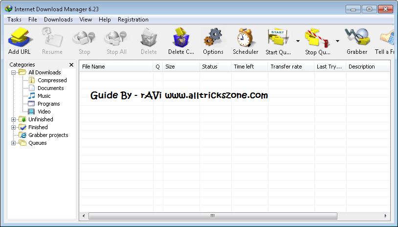 idm with crack zip file free download