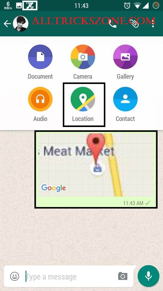 whatsapp spoof location sender app