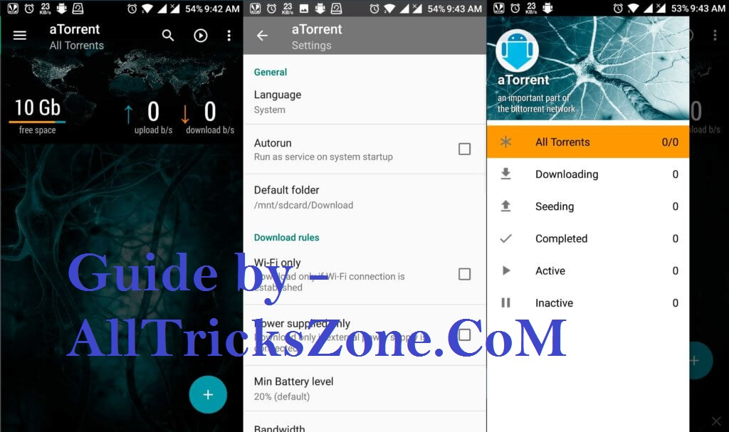 how to increase download speed in utorrent android