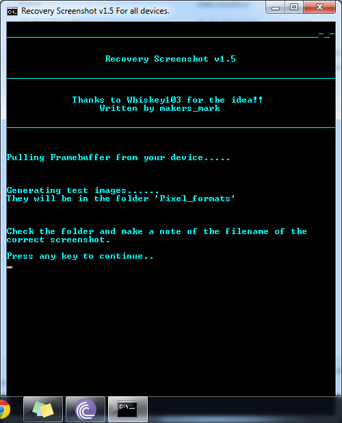 twrp screenshot