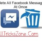 How to Delete All Facebook Messages at Once Click(Easily)