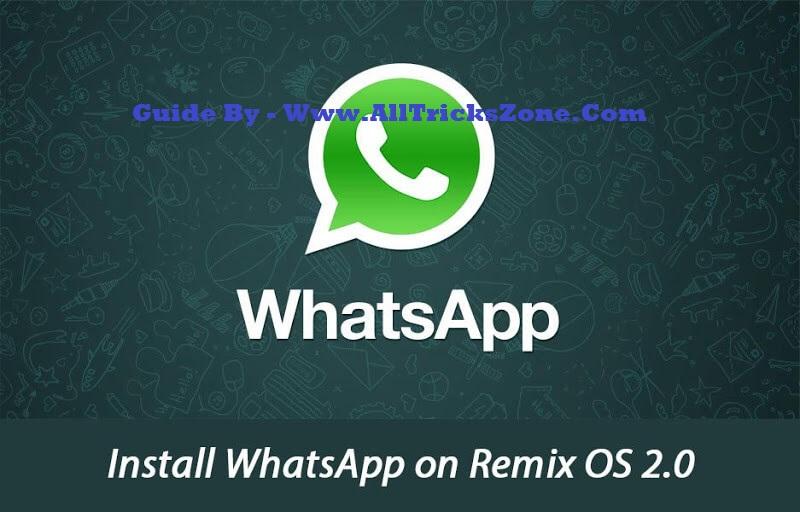 whatsapp on remix os 2.0