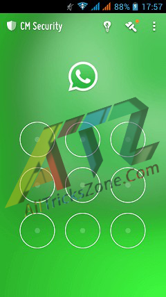 whatsapp pattern unlock trick
