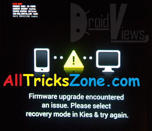 Firmware Upgrade Encountered an issue