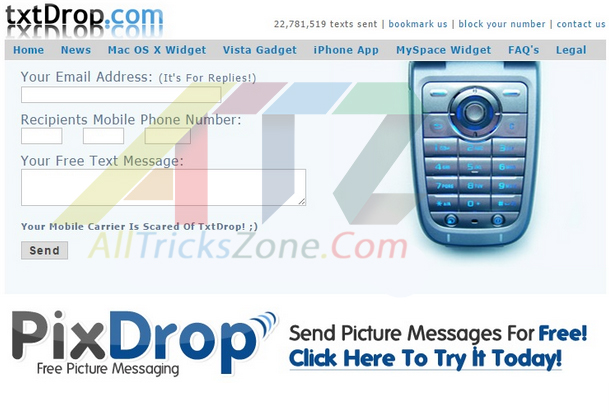 Free Text SMS and Picture Messaging Prank Your Friends