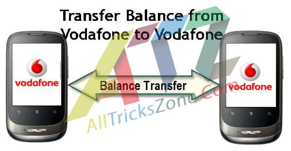 Transfer-Balance-vodafone