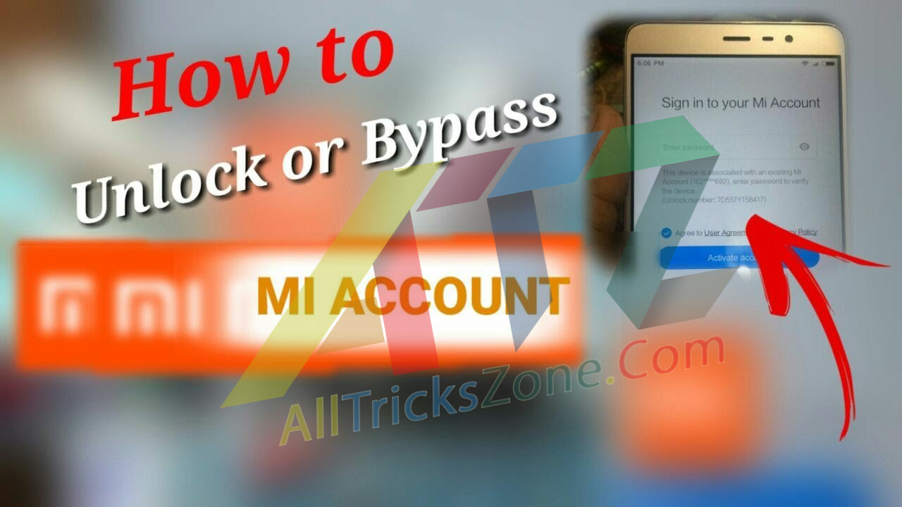 How to unlock or bypass the lock of the MI account