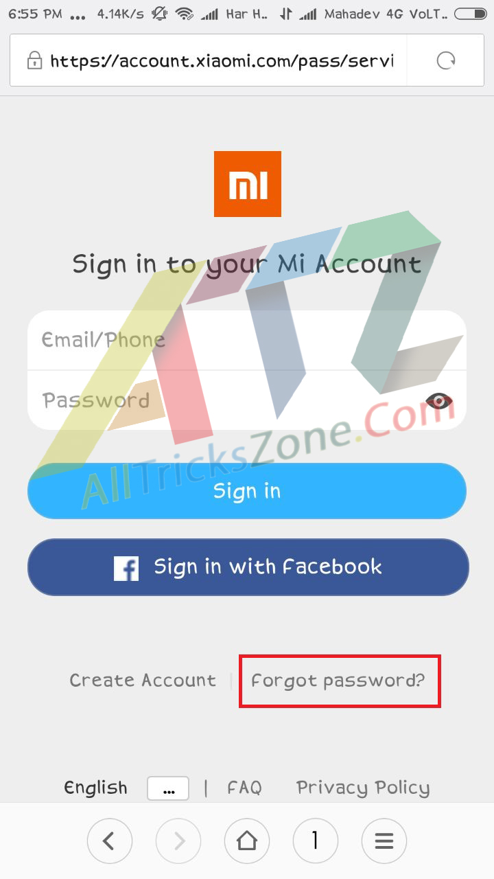 Remove Xiaomi Account From Mobile